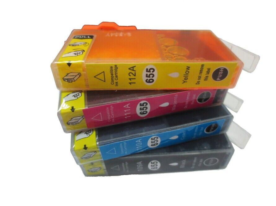 HP 655M(CZ111A) magenta (purpurová) kompatibilní inkoustová cartridge s čipem