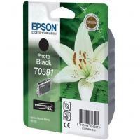 Epson T0591 originální cartridge / 13 ml / black Výprodej