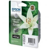 Epson T0599 originální cartridge /13ml/ light light black