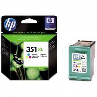 HP originální ink CB338EE, HP 351XL, color, 14mlSLEVA ! PROŠLÁ EXPIRACE ! Hewlett-Packard
