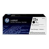 HP originální toner Q2612AD black 4000str. (2x2000)str., HP 12A Hewlett-Packard